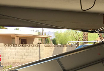 Garage Door Off Track Project | Garage Door Repair Grand Prairie, TX